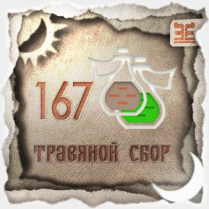 Сбор № 167, применяемый для лечения ангины и фарингита