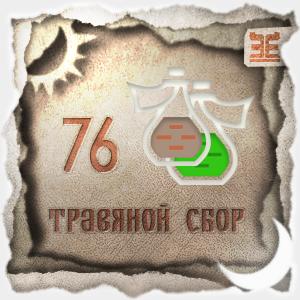 Сбор № 76, применяемый для лечения хронического тонзиллита