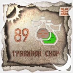 Сбор № 89, применяемый для лечения трахеобронхита